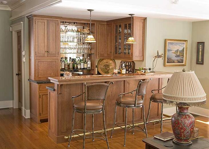 Барные стойки в интерьере кухни фото